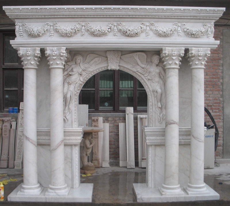 white-marble-fireplace-with-angle-carving-and-flower-carving-indoor-free-standing-fireplace-mantel-FP03